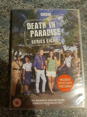 Death In Paradise series / season 8 Dvd Includes 6 exclusive postcards