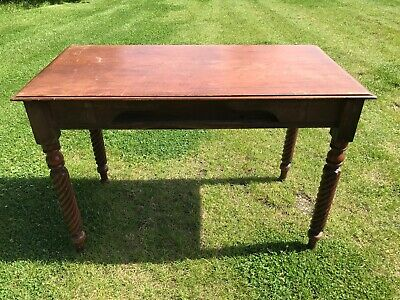 Antique Victorian Drop Leaf Table 105cm x 53cm