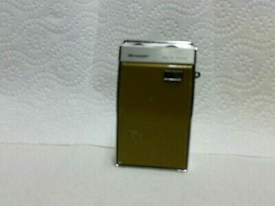 ( Sharp ) Transistor Radio  Works Well  Ship Usa Only ( Free Shipping)