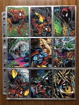 Spider-Man - The McFarlane Era (Full 72 Trading Card Set, 1992) Marvel Comics