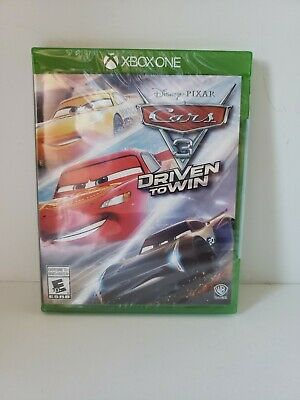 Cars 3: Driven to Win (Xbox One, 2017) - New!  Free Shipping! Kids Family