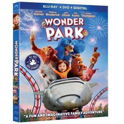 Wonder Park (Blu-Ray/DVD/Digital, Contains FRENCH & SPANISH)