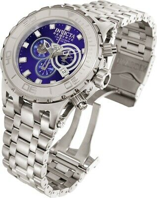 Invicta Watch Subaqua Mens 52mm Blue Dial Model-6897