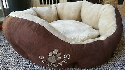 Scruffs Donut Cat Small Dog Bed Brown Small