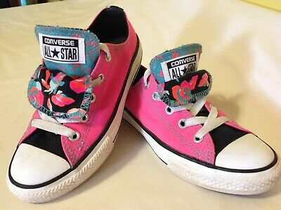 CONVERSE 654226F CHUCK Taylor All Star Double Tongue Ox Pink