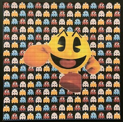 Blotter Art - Pac Man Collection - 3 Blotters -  900 Squares - 3 Blotters For 1!