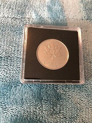 2017 Canada 150 Special Edition Fifty 50 Cent Coin In Square Capsule