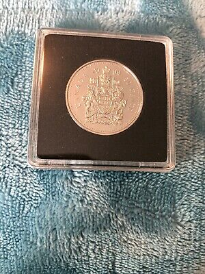 2000 Canada Fifty 50 Cent Coin In Square Capsule