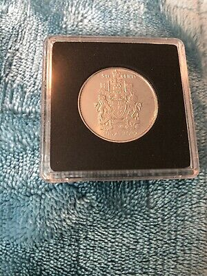 2002 Canada Fifty Cent Coin In Square Capsule