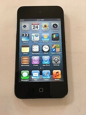 Apple iPod touch 4th Generation Black (32GB), has issue - read