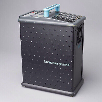 Broncolor Grafit 4 3200j Generator / Pack for Studio Lighting
