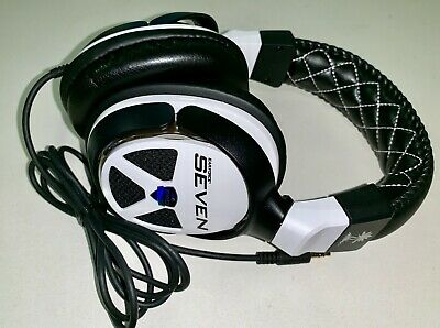 Turtle Beach Black/White Headset for Xbox 360, PS3, PS4, PC No Microphone