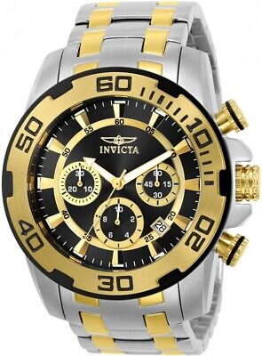 Invicta Men's 22322 'Pro Diver' Scuba Gold-Tone and Silver Stainless Steel Watch
