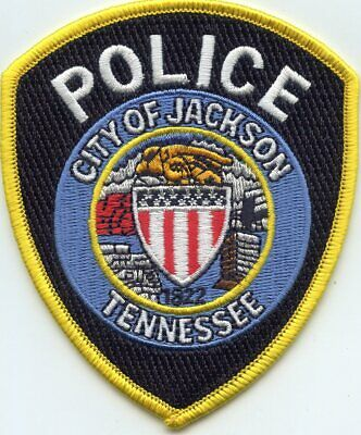 Jackson Tennessee Police Department Honor Guard Patch Tn
