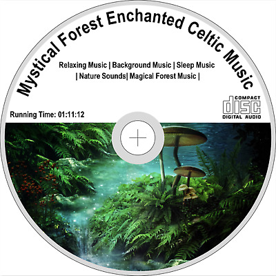 NATURAL SOUNDS CD Forest At Nightfall, Night Woods Noises, Birds