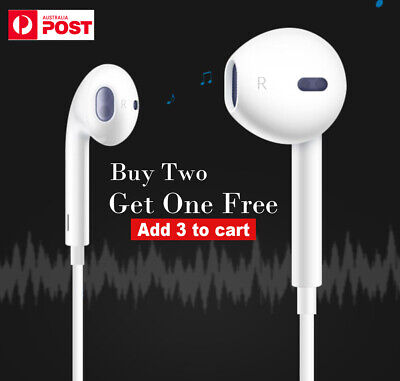 Earphones Earbuds Headphones Remote with Mic for iPhone 6 5 4/  iPad iPod