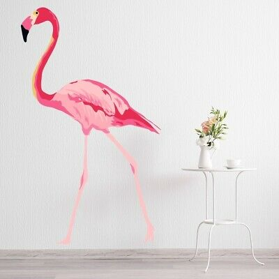 Tropical Pink Flamingo Wall Sticker WS-50890