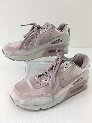 Details about Nike Air Max 90 LX 898512 600 Woman Running ShoesParticle Rose Velvet Size 11