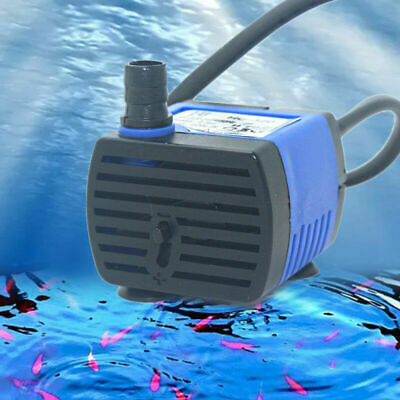 AC 220v~240v 220L/H small Submersible Water Pump for Fountain Fish Aquarium h