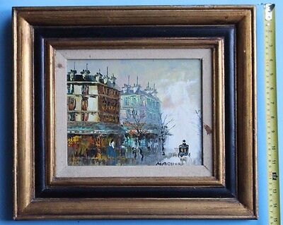 Oil Painting BY MARVIN ORIGINAL. BEAUTIFUL TEXTURES  EXCELLENT CANVAS
