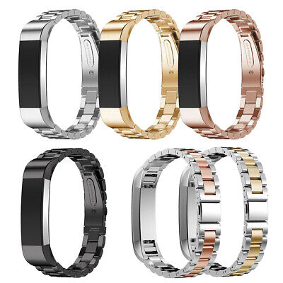 for Fitbit Alta/Alta HR Bands Magnetic Loop Strap Stainless Steel Wristbands US