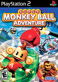 Brand New Sealed Super Monkey Ball Adventure (Sony PlayStation 2, 2006, PS2)