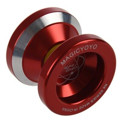 MAGICYOYO N8 Super Professional YoYo + String + Free Bag +Free Glove (Red) I9P1
