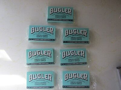 7 Packs of BUGLER CIGARETTE ROLLING PAPERS1610 LEAVES(230 papers/ Sealed Pack)