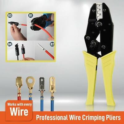 Wire Crimpling Pliers Professional Wire Crimpers Engineering Ratchet Terminal
