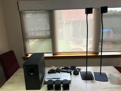 Bose Lifestyle 5  Home Theater System with speaker stands. Works perfectly
