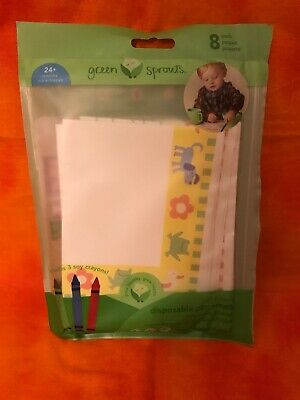 Green Sprouts Tree Free Table Topper Disposable Stick-on Placemat, 7- Count