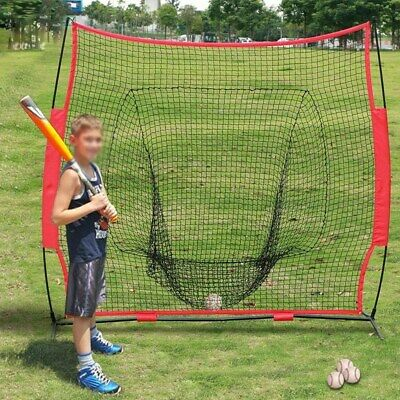 Woodworm Baseball and Softball 2.2m x 2.2m Practice Net Quick Set up with Carrying Case
