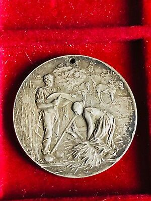 Medal Comice Agricultural of Damville Eure by a Rivet