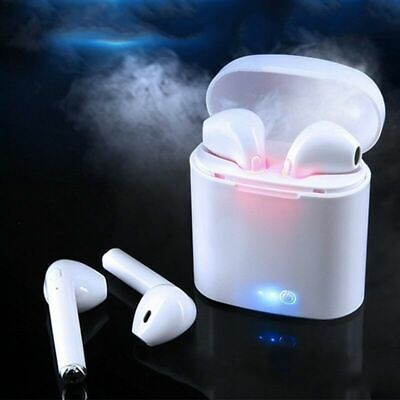 Dual Wireless Bluetooth Earphone Earbuds for Airpods Apple iPhone Android US