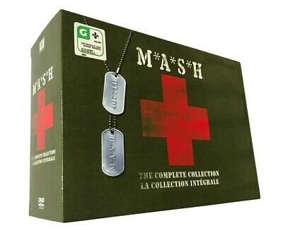 MASH:The Complete Series Collection Seasons 1-11(DVD 33-Disc Box Set)M.A.S.H,New