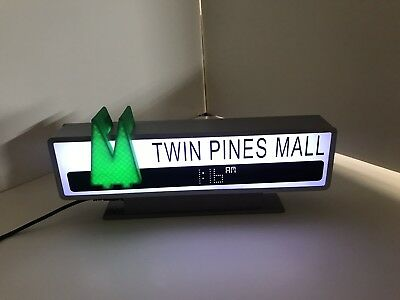 Back To The Future Inspired Twin Pines Mall Sign 1