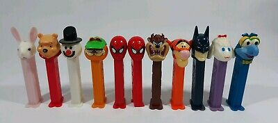 Pez Dispensers Vintage Halloween, Handy Manny, Disney, Frosty RARE lot of 11