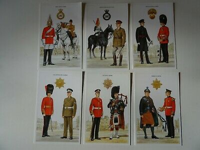 14  Cartes postales The British Army series by Douglas N Anderson  ed 1986-1988