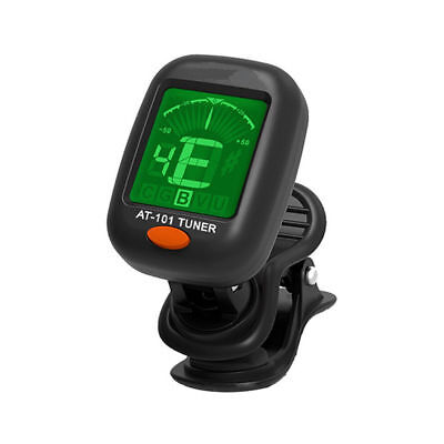 Donner Clip-on LCD Digital Chromatic Electronic Guitar Tuner Bass Violin Ukulele