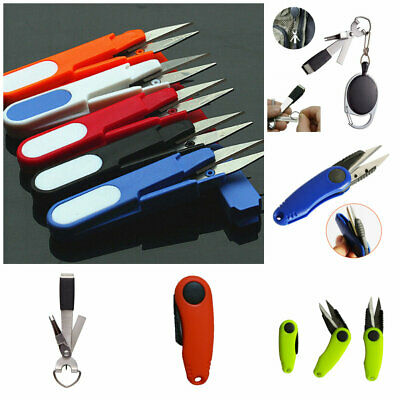 Fishing Plier Sewing String Line Cutter Scissors Blade/ Nipper Tackle Removers