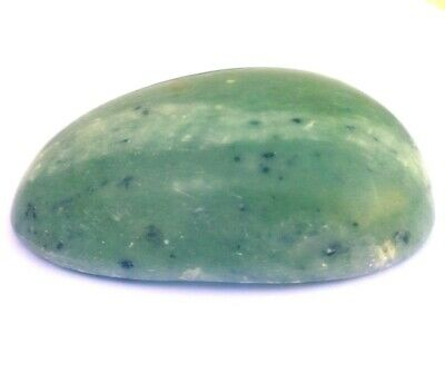 Green Jade Deep Tissue Tool Hot or Cold Stone Massage Therapy 6X8X2.8cm