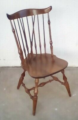 Authentic Nichols & Stone Windsor Dining Chairs-Set of 6 -Fan Back-American Made