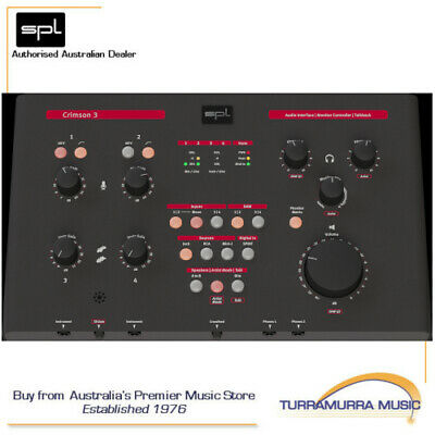 SPL Crimson 3 Audio Interface with Analog monitoring (Clearance Item)