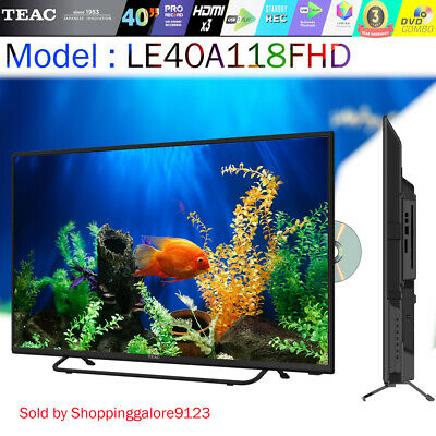 """TEAC 40""""  Inch TV FHD LED LCD DVD Player COMBO PVR Function HDMI 3 Year Warranty"""