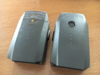 2 x DJI Mavic Pro Batteries GENUINE OFFICIAL TWO - 0 Charge Cycles each