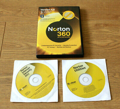 Norton 360 Version 4 All In One Security inc Utilities & Internet Security 2011