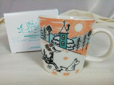 Arabia Moomin Valley Park Limited mugcup with paper bag Japan 2019 MoominValley