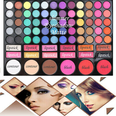 78 Color Nude&Neon Combination Cosmetics Natural Fusion Eyeshadow Palette