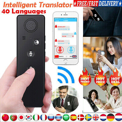 Translaty MUAMA Enence Smart Instant Real Time Voice 40+ Languages Translator T3