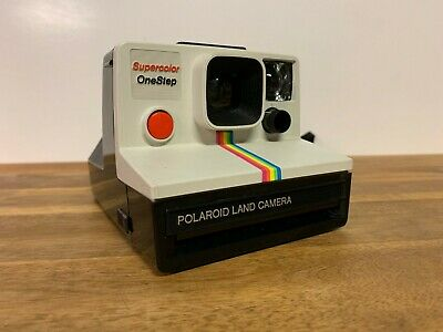 Vintage Polaroid Super Color One Step Land Camera